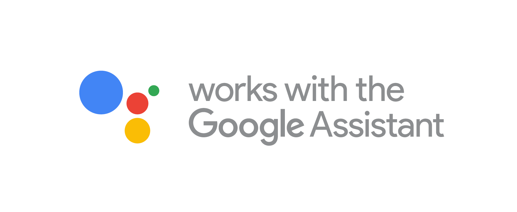 Works with Google Assistant badge